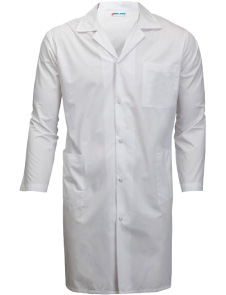 Long Sleeve Knee Length Kitchen Coat