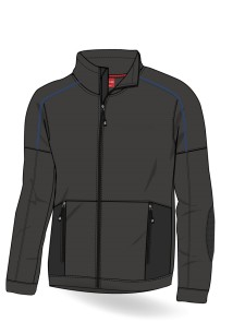 Premium French Terry Water Repellant Fleece Jacket