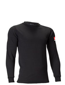 Polartec® Powerdry® no melt no drip thermal base layer shirt
