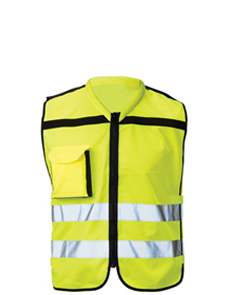 Adjustable professional HV vest